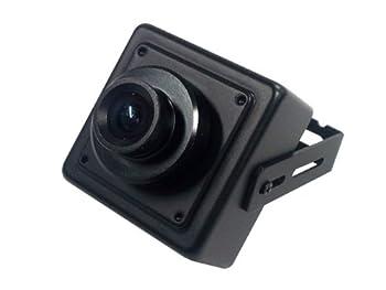 KT&C KPC-HD38M 1080p 2.1MP HD-SDI Mini Square Camera 3.6mm Megapixel Board Lens OSD Digital D/N Black