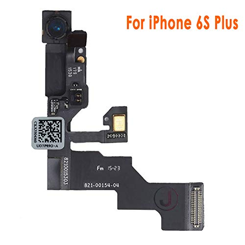Johncase New OEM 5MP Front Facing Camera Module w/Proximity Sensor + Microphone Flex Cable Replacement Part Compatible for iPhone 6s Plus (All Carriers)