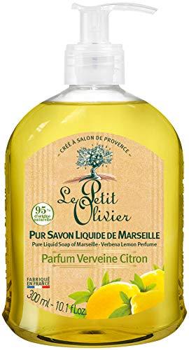 Le Petit Olivier Pur Savon Liquide de Marseille Verveine Citron 300ml