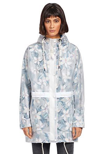 Khujo Damen Regenjacke, Größe:M, Farbe:mehrfarbig