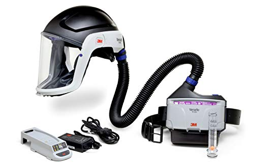 3M PAPR Respirator, Versaflo Powered Air Purifying Respirator Kit, TR-300N+ HIK, Facility Maintenance, Grinding, Sanding, Machine Operations, Powder Handling, Pharmaceutical