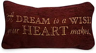 Disney Park A Dream is a Wish Your Heart Makes Decorative Toss Pillow Decorator