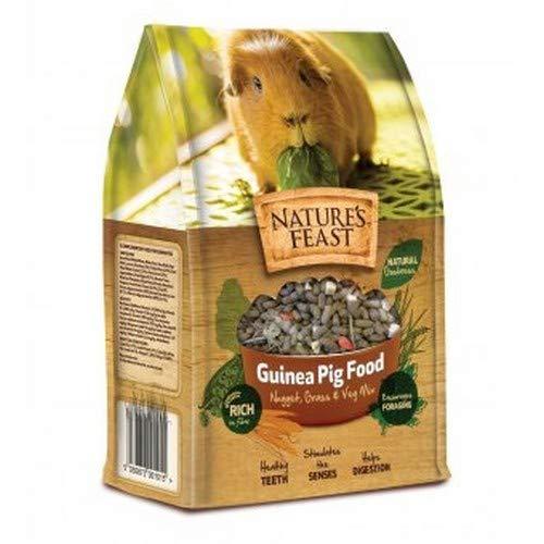 Natures Feast - Mangime in mix per cavie (1.5kg) (Multicolore)