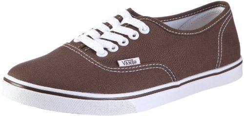 Vans U AUTHENTIC LO PRO Vgyqetr Unisex-Erwachsene Sneakers, Braun (Espresso/True W), EU 38 (US 6)