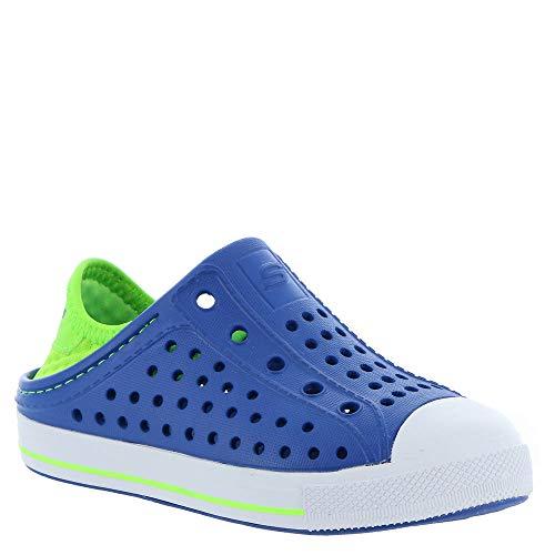 Skechers Kids Baby Boy's Cali Gear Guzman Steps - Aqua Surge (Toddler) Blue/Lime 8 Toddler M