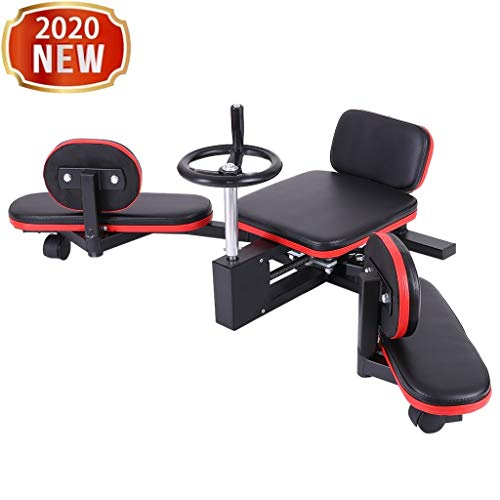 Leg Stretcher & Split Machine - Strength Training Leg Machines - Flexibility Trainer for Yoga & Martial Arts Training Equipment - Extends Over 180 Degrees - Heavy Duty Home/Gym Fitness Stretcher