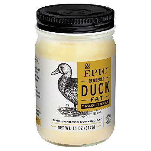 EPIC Duck Fat Keto Friendly, Whole30, 11oz Jar