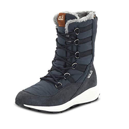Jack Wolfskin Damen Nevada Texapore HIGH W Wasserdicht Schneestiefel, Blau Dark Blue Off White 1171, 39 EU