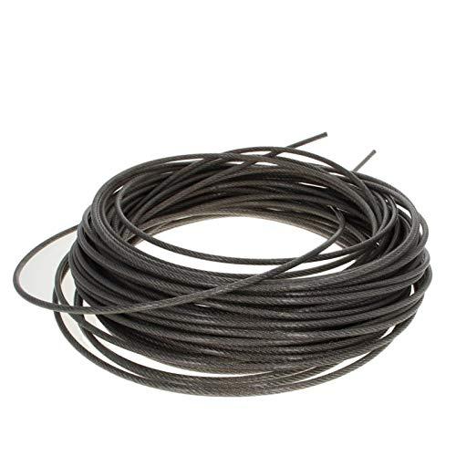 Alambre Acero Inoxidable,Cable Acero Plastificad Recubierto de PVC cable de alambre de acero inoxidable 304-Acero-alambre flexible de la cuerda de 4 mm de diámetro 6 ~ 30m suave larga del cable de ele