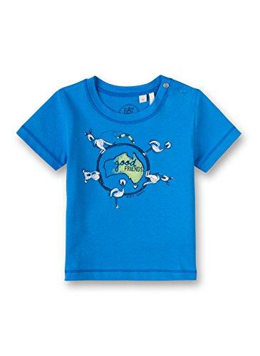 Sanetta - T-shirt - Manches courtes - Bébé (garçon) 0 à 24 mois - Bleu - 9 mois