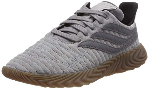 adidas SOBAKOV, Zapatillas de Gimnasia Hombre, Gris (Grey Three F17/Grey Four F17/Grey Two F17 Grey Three F17/Grey Four F17/Grey Two F17), 40 EU