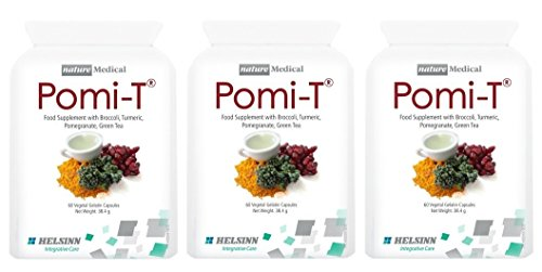 Pomi-T Polyphenol Food Supplement 60 Capsules (Pack of 3 - 180 Capsules)