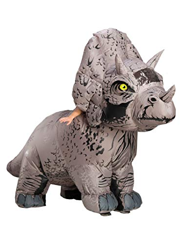 Rubies Jurassic World Fallen Kingdom Triceratops Deluxe Inflatable Adult Costume