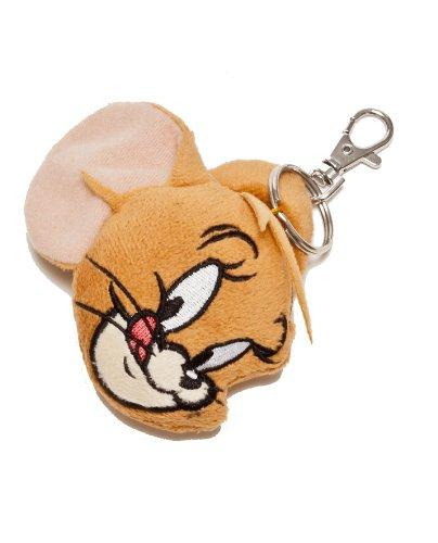 Tom & Jerry 233326 - Jerry Plüsch-Schatzhalter, 7 cm