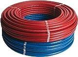 Matériau de raccordement, tuyau flexible, tuyau isolé ALU-PEX multicouche 16 x 2...