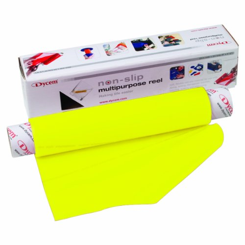 Dycem Non-Slip Material Roll, Yellow, 8