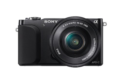 Sony NEX-3NL/B Mirrorless Digital Camera Kit (Black)