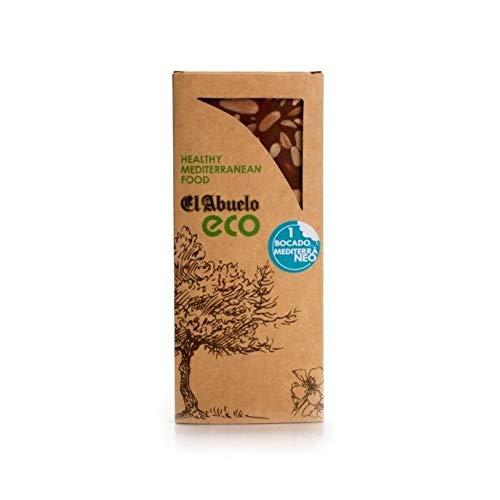 Turrón chocolate con almendras ECO El Abuelo, 200 g