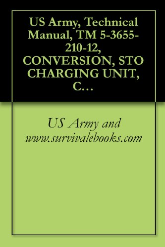US Army, Technical Manual, TM 5-3655-210-12, CONVERSION, STO CHARGING UNIT, CARBON DIOXIDE: GASOLINE