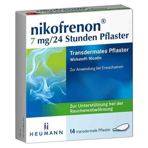 Nikofrenon 7 mg/24 Stunden Pflaster transdermal, 14 St