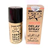 Best Delay Sprays - Deadly Shark Power 48000 Delay Spray for Men Review