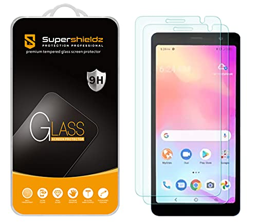 (2 Pack) Supershieldz Designed for TCL A3 Tempered Glass Screen Protector, Anti Scratch, Bubble Free