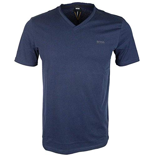BOSS Herren Truth T-Shirt, Blau (Dark Blue 404), Small (Herstellergröße: S)
