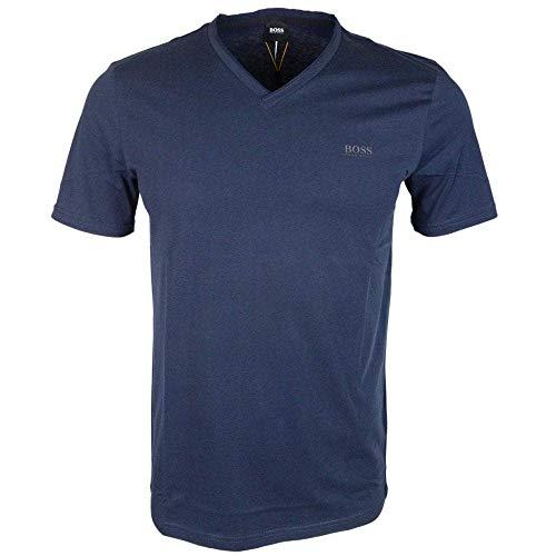 BOSS Herren Truth T-Shirt, Blau (Dark Blue 404), Small (Herstellergröße: S)