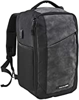 Cabin Max Manhattan RPET 40x20x25 Underseat Ryanair Cabin Bags | Underseat Stowaway Hand Luggage | Laptop Carry On Bag...