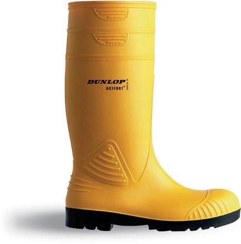 Botas de agua amarillas unisex