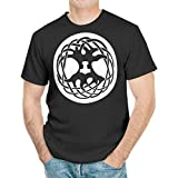 Slip – Camiseta para hombre, diseño de árbol celta de la vida, árbol del mundo, Mjollnir, martillo de Mjollnir, Muerto nórdico, vikingo, raíces, mitología, impresión blanco XXXL