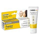 Medela Purelan crema 100% lanolina, natural y segura para la madre y el bebé sin sabor ni fragancia.Alivio rápido de los pezones doloridos y la piel seca (labios, talones, codo, culito de bebé…)