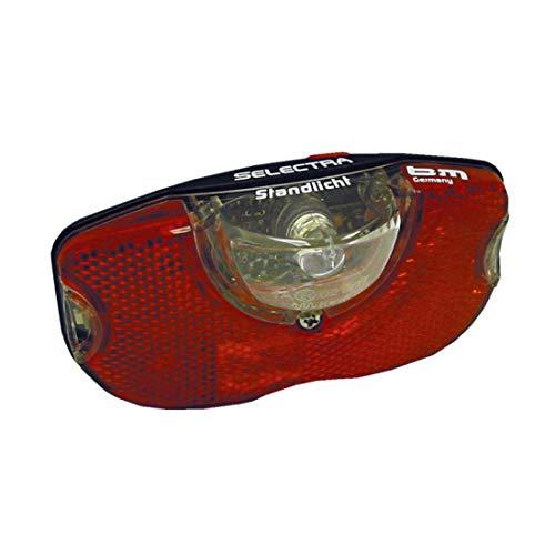 Busch+Müller Selectra Plus 50 - LED Diodenrücklicht für Gepäckträger, mit Standlicht ~ Schraubenabstand 50 mm