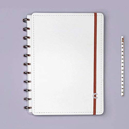 Caderno Inteligente Grande All White Cigd4062 29018