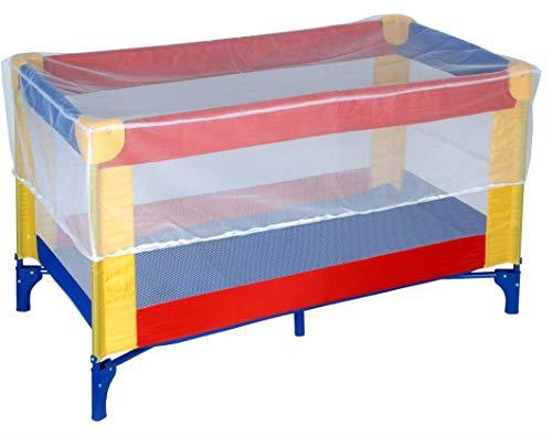 Moskitonetz für Babybetten, Fliegengitter für Kinderbetten, 130x70cm