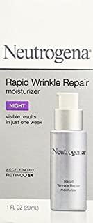 Neutrogena Rapid Wrinkle Repair Night Moisturizer, For smoother, younger-looking
