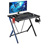 Mr IRONSTONE 31.5' Gaming Desk PC Computer Desk Home Office Student Table for Small Space with Cup...