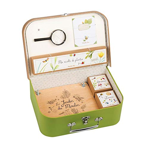 Moulin Roty Le Jardin - Botanist's Kit Carry Case (Valise Le Botaniste)
