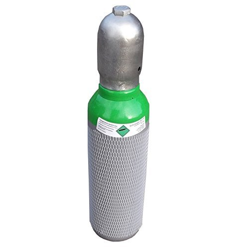 Schutzgas (Schweißgas) 82 18 - 5 Liter Schweißgasflasche zum MAG Schweißen (Argon CO2 Mischgas / Schutzgas) - Fabrikneue neutrale Eigentumsflasche von Gase Dopp