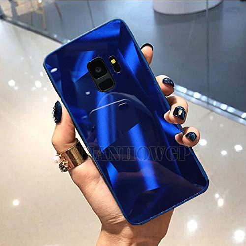 Carcasa para iPhone con efecto espejo 3D para iPhone 11 Pro Xr Xs Max Casos de teléfono para iPhone 6S, 7, 8, 6 Plus, prisma láser degradado