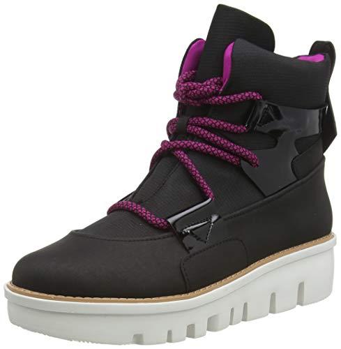 Fitflop Damen Glace Ankle Boots Stiefeletten, Black Black Mix 231, 37 EU