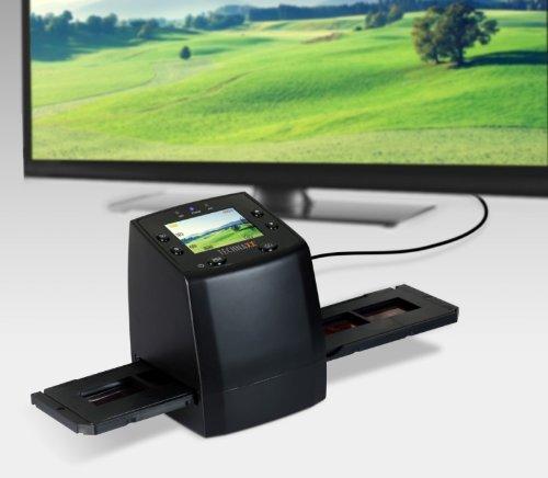 Technaxx DigiScan DS-02 Film Négatif/Diapositive pour Scanner 6.1cm - USB 2.0 - (2,4 pouces),...