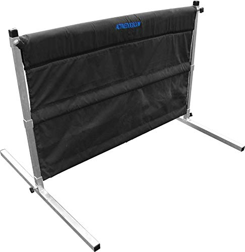 Activedogs IGP IPO Schutzhund Hurdle Jump w/Carrying Bag - All Aluminum Design - Agility Training Jump - Easy to Transport