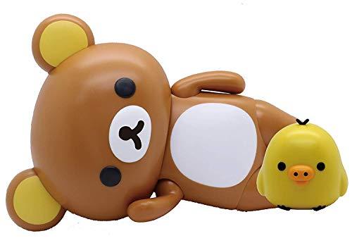 フジミ模型 Ptimoシリーズ No.6 リラックマ ~リラックマとキイロイトリ~ 色分け済み プラモデル Ptimo6