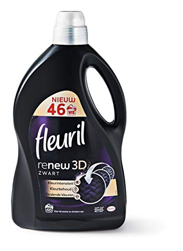 Fleuril Wasmiddel vernieuwen 3 D zwart - fles 2,76 liter