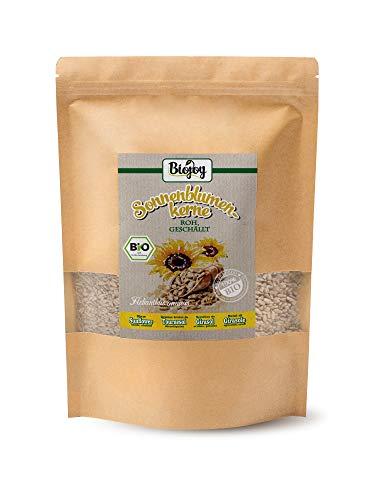 Biojoy Semi di Girasole Biologici sgusciati crudi, senza sale (1,5 kg)