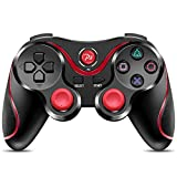 PS3 Controller Wireless, CIPON Gamepad Remote for Sony Playstation 3(Black)