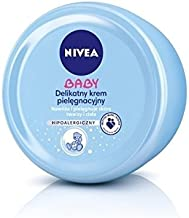 Nivea Baby Moisturizer for Face & Body 200ml [European Import] - 3 Count
