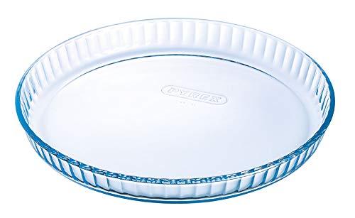 Pyrex 1040909 Bake & Enjoy Moule à Tarte en verre Ø 31 cm