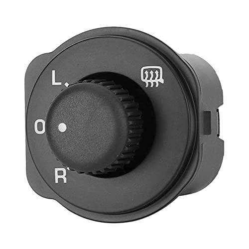 PREPP Interruptor de Control, Interruptor de Control de Espejo de ala Ajuste para Skoda Fabia 2006-2014 5J1959565 (Color : Black)